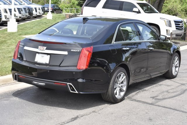 2018 Black Raven Cadillac CTS Luxury AWD AWD Sedan 4 Door