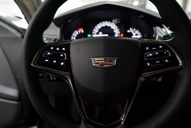 2018 Black Raven Cadillac CTS Luxury AWD Automatic 2.0L 4-Cylinder Turbocharged Engine 4 Door Sedan AWD