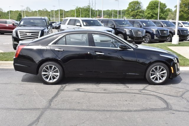 2018 Black Raven Cadillac CTS Luxury AWD Sedan Automatic 4 Door AWD