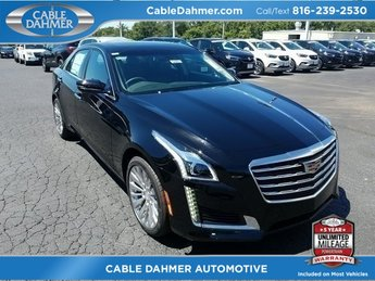 2018 Stellar Black Metallic Cadillac CTS Luxury AWD 2.0L 4-Cylinder Turbocharged Engine AWD 4 Door Sedan Automatic