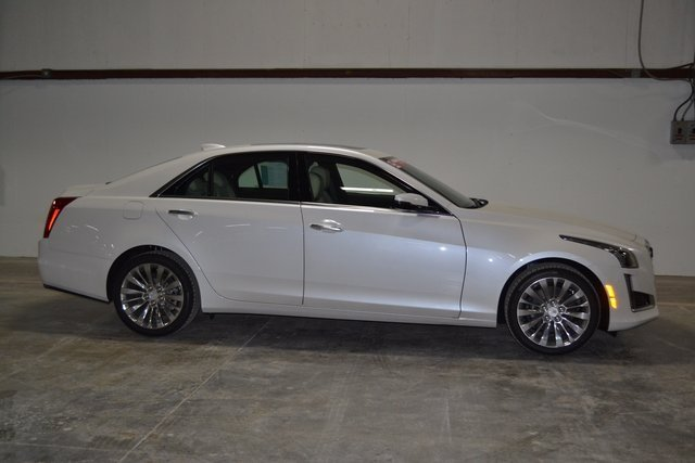 2018 Cadillac CTS Luxury AWD AWD 2.0L 4-Cylinder Turbocharged Engine Automatic 4 Door