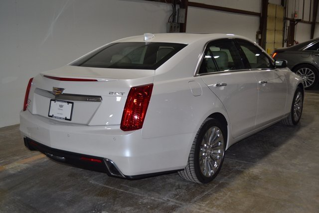 2018 Crystal White Tricoat Cadillac CTS Luxury AWD Automatic AWD Sedan