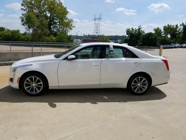 2018 Cadillac CTS Luxury AWD AWD 4 Door Sedan Automatic
