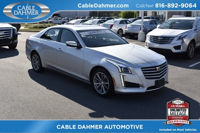 2018 Cadillac CTS Luxury AWD Automatic 2.0L 4-Cylinder Turbocharged Engine 4 Door
