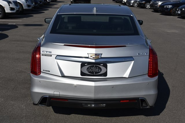 2018 Radiant Silver Metallic Cadillac CTS Luxury AWD Automatic 2.0L 4-Cylinder Turbocharged Engine AWD