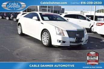 2011 White Diamond Tricoat Cadillac CTS Performance Automatic AWD 2 Door Coupe 3.6L V6 DI VVT Engine