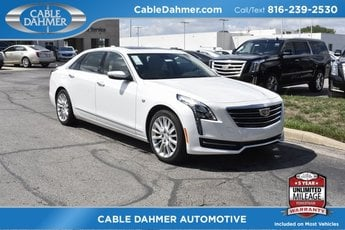 2018 Crystal White Tricoat Cadillac CT6 AWD Sedan AWD Automatic