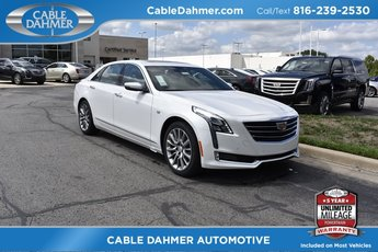 2018 Cadillac CT6 Luxury AWD AWD 4 Door Automatic Sedan 3.6L 6-Cylinder Engine