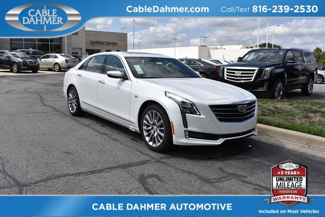 2018 Cadillac CT6 Luxury AWD Sedan 4 Door Automatic 3.6L 6-Cylinder Engine