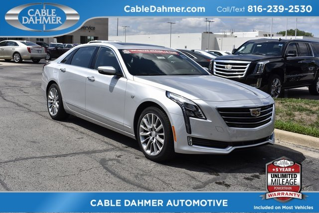 2018 Radiant Silver Metallic Cadillac CT6 Luxury AWD 3.6L 6-Cylinder Engine Automatic 4 Door