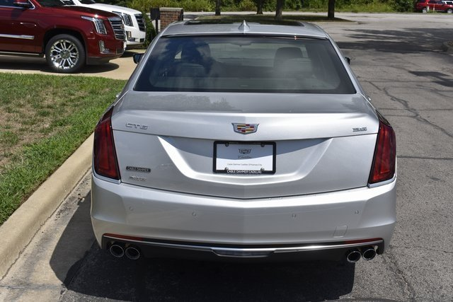 2018 Radiant Silver Metallic Cadillac CT6 Luxury AWD AWD 3.6L 6-Cylinder Engine 4 Door Automatic