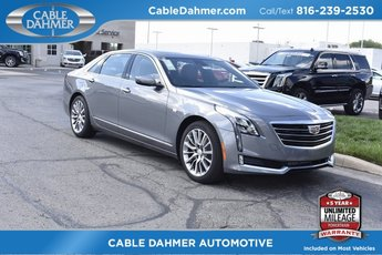 2018 Cadillac CT6 Luxury AWD AWD Automatic Sedan 3.6L 6-Cylinder Engine
