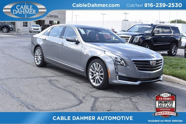 2018 Satin Steel Metallic Cadillac CT6 Luxury AWD 3.6L 6-Cylinder Engine Sedan AWD Automatic