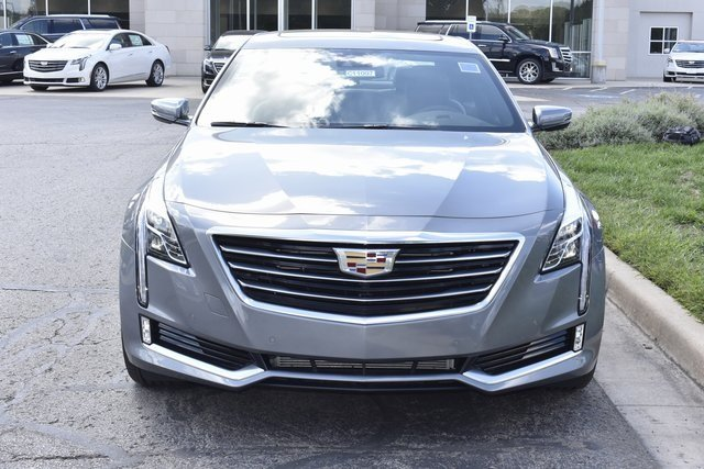 2018 Satin Steel Metallic Cadillac CT6 Luxury AWD AWD 3.6L 6-Cylinder Engine Automatic