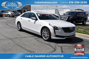 2018 Crystal White Tricoat Cadillac CT6 Luxury AWD AWD Sedan 4 Door Automatic 3.6L 6-Cylinder Engine