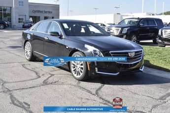 2018 Cadillac CT6 Luxury AWD 4 Door Automatic 3.6L 6-Cylinder Engine AWD Sedan