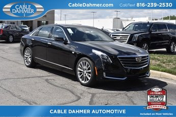 2018 Black Raven Cadillac CT6 Luxury AWD Automatic 3.6L 6-Cylinder Engine 4 Door AWD