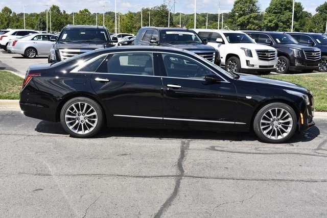 2018 Cadillac CT6 Luxury AWD Automatic 3.6L 6-Cylinder Engine AWD 4 Door