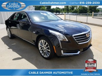 2018 Cadillac CT6 Premium Luxury AWD 4 Door AWD Sedan Automatic 3.0L 6-Cylinder Turbocharged Engine