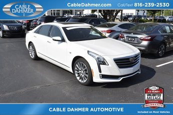 2017 Crystal White Tricoat Cadillac CT6 Premium Luxury AWD 3.0L V6 Engine Sedan AWD
