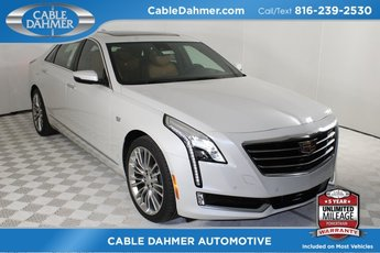 2018 Crystal White Tricoat Cadillac CT6 Premium Luxury AWD 4 Door 3.0L 6-Cylinder Turbocharged Engine AWD Sedan Automatic