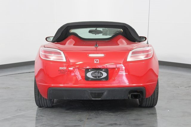 2008 Chili Pepper Red Saturn Sky Base 2 Door Automatic Convertible RWD
