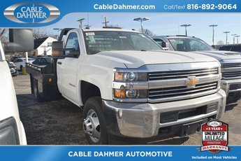 2018 Summit White Chevrolet Silverado 3500HD Work Truck 2 Door Truck Vortec 6.0L V8 SFI Flex Fuel VVT Engine 4X4