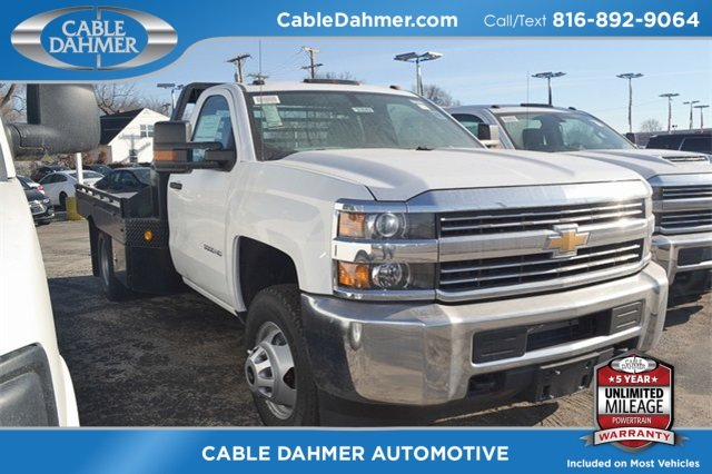 2018 Summit White Chevy Silverado 3500HD Work Truck Truck 4X4 2 Door Vortec 6.0L V8 SFI Flex Fuel VVT Engine Automatic