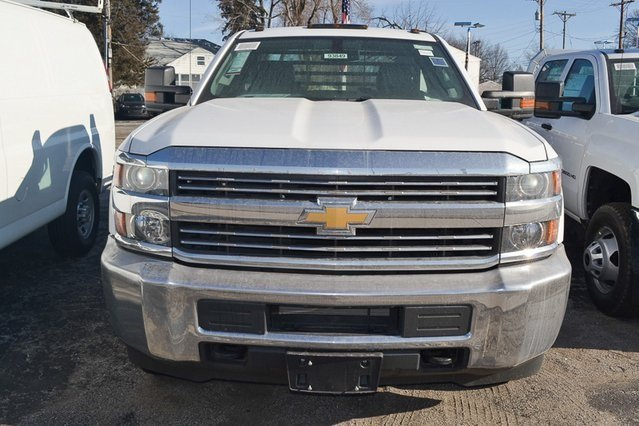 2018 Chevy Silverado 3500HD Work Truck 4X4 2 Door Automatic Vortec 6.0L V8 SFI Flex Fuel VVT Engine