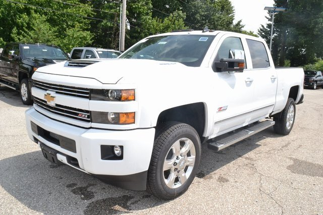 2019 Summit White Chevrolet Silverado 2500HD LTZ 4X4 Truck 4 Door