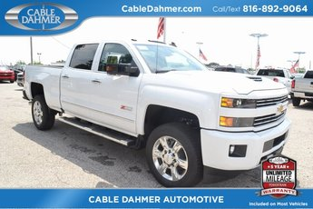 2019 Summit White Chevy Silverado 2500HD LTZ 4X4 4 Door Truck
