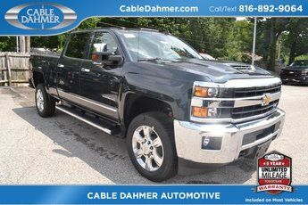 2019 Graphite Metallic Chevy Silverado 2500HD LTZ Automatic 4X4 Truck