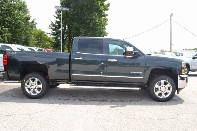 2019 Graphite Metallic Chevy Silverado 2500HD LTZ 4 Door Truck Automatic