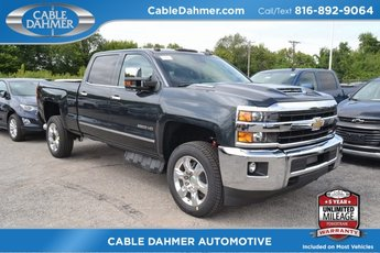 2019 Graphite Metallic Chevy Silverado 2500HD LTZ 4 Door 4X4 Automatic