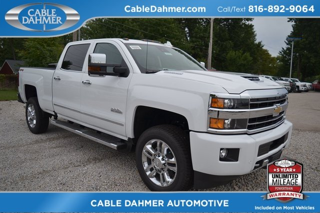 2019 Chevy Silverado 2500HD High Country 4X4 Truck Automatic Duramax 6.6L V8 Turbodiesel Engine