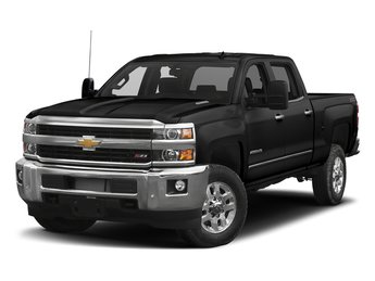 2018 Black Chevrolet Silverado 2500HD LTZ 4 Door Automatic 4X4 Truck Duramax 6.6L V8 Turbodiesel Engine