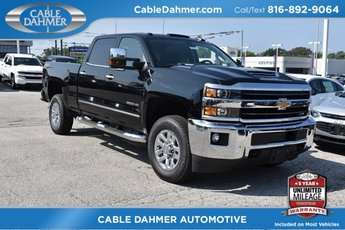 2018 Black Chevy Silverado 2500HD LTZ 4 Door Automatic 4X4 Duramax 6.6L V8 Turbodiesel Engine Truck