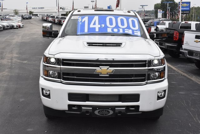 2018 Summit White Chevy Silverado 3500HD High Country 4 Door Automatic Truck Duramax 6.6L V8 Turbodiesel Engine