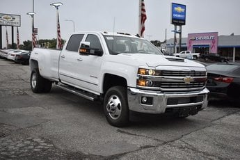 2019 Chevy Silverado 3500HD LTZ 4X4 Automatic 4 Door 6.6L 8-Cylinder Diesel Turbocharged Engine Truck