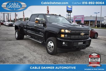 2019 Black Chevy Silverado 3500HD LTZ Duramax 6.6L V8 Turbodiesel Engine Truck 4 Door Automatic 4X4