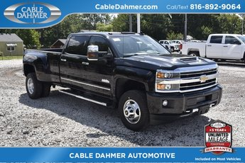 2019 Chevy Silverado 3500HD High Country Duramax 6.6L V8 Turbodiesel Engine Truck 4X4