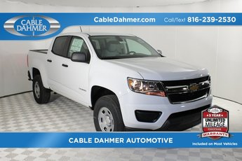 2019 Summit White Chevy Colorado 2WD Work Truck RWD 4 Door Automatic 2.5L I4 DI DOHC VVT Engine