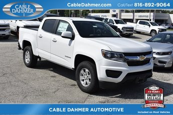 2019 Summit White Chevy Colorado 2WD Work Truck Automatic RWD 4 Door