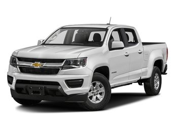 2018 Summit White Chevy Colorado 4WD Work Truck 4X4 Automatic 4 Door V6 Engine Truck