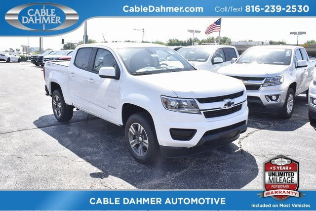 2018 Summit White Chevrolet Colorado 4WD Work Truck Truck 4 Door V6 Engine Automatic