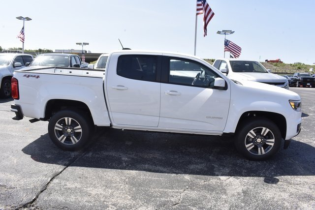 2018 Chevrolet Colorado 4WD Work Truck Automatic Truck 4 Door
