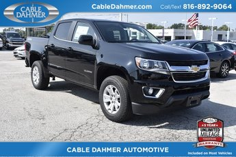 2019 Black Chevy Colorado 4WD LT Truck V6 Engine 4X4