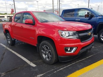 2017 Red Hot Chevrolet Colorado 4WD Z71 4X4 Automatic V6 Engine 4 Door