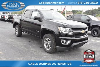 2019 Black Chevy Colorado 4WD Z71 Truck Automatic 4X4 V6 Engine