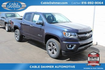 2018 Blue Metallic Chevy Colorado 4WD Z71 4 Door 4X4 V6 Engine Automatic Truck